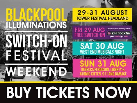 new blackpool illuminations festival