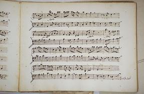 Pietro Paolo Bencini 18 century manuscript