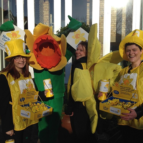 Marie Curie North East and Cumbria Fundraising Team