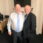 Mayor Joe Anderson FA Chairman Greg Dyke
